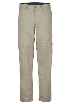 Men's BugsAway Sol Cool Ampario Convertible Pants, Lt Khaki, medium