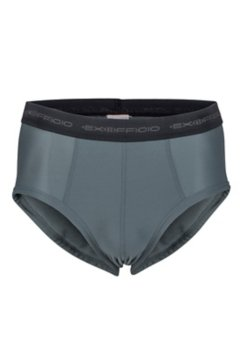 Give-N-Go Flyless Brief, Charcoal, medium