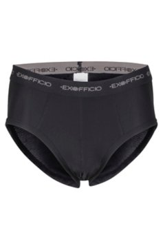 Give-N-Go Flyless Brief, Black, medium