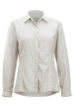 Women's Lightscape Long-Sleeve Shirt, Malt, medium