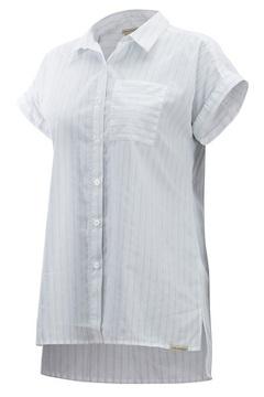 Lencia SS Shirt, White, medium