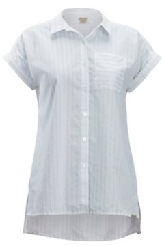 Lencia SS Shirt, White, medium