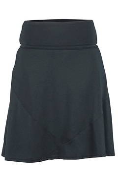 Wanderlux Convertible Skirt, Black, medium