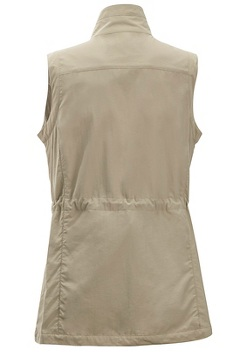 Women's Sol Cool FlyQ Vest, Tawny, medium