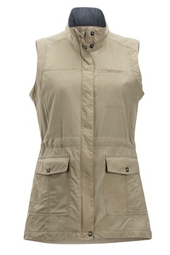 Women's Sol Cool FlyQ Vest, Tawny, medium