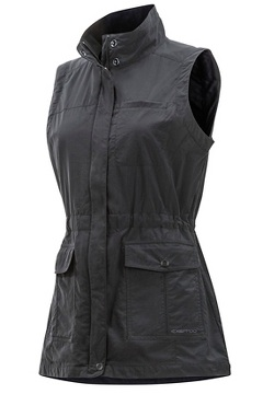 Women's Sol Cool FlyQ Vest, Black, medium