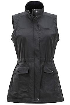 Women's Sol Cool FlyQ Vest, Black, medium