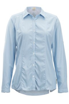 BugsAway Zeta Stripe L/S, Chambray, medium