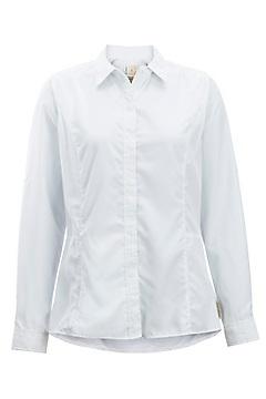 Women's BugsAway Brisa Long-Sleeve Shirt, White, medium