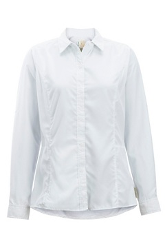Women's BugsAway Brisa Long-Sleeve Shirt, White, medium