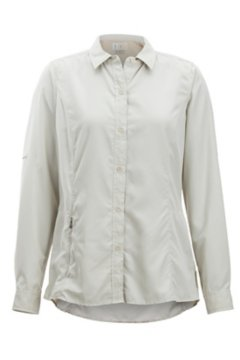 BugsAway Brisa LS Shirt, Lt Stone, medium
