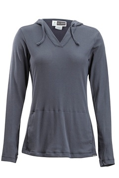 Women's BugsAway Lumen Hoody, Carbon, medium