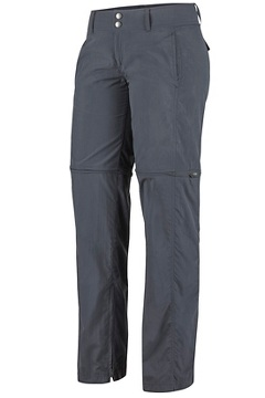Women's BugsAway Sol Cool Ampario Convertible Pants - Petite, Carbon, medium
