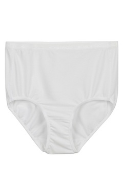 Give-N-Go Full Cut Brief, White, medium