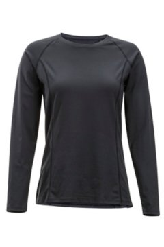 Give-N-Go Performance Base Layer Crew, Black, medium