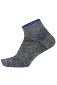 BugsAway Solstice Canyon Quarter Socks, Grey Heather, medium