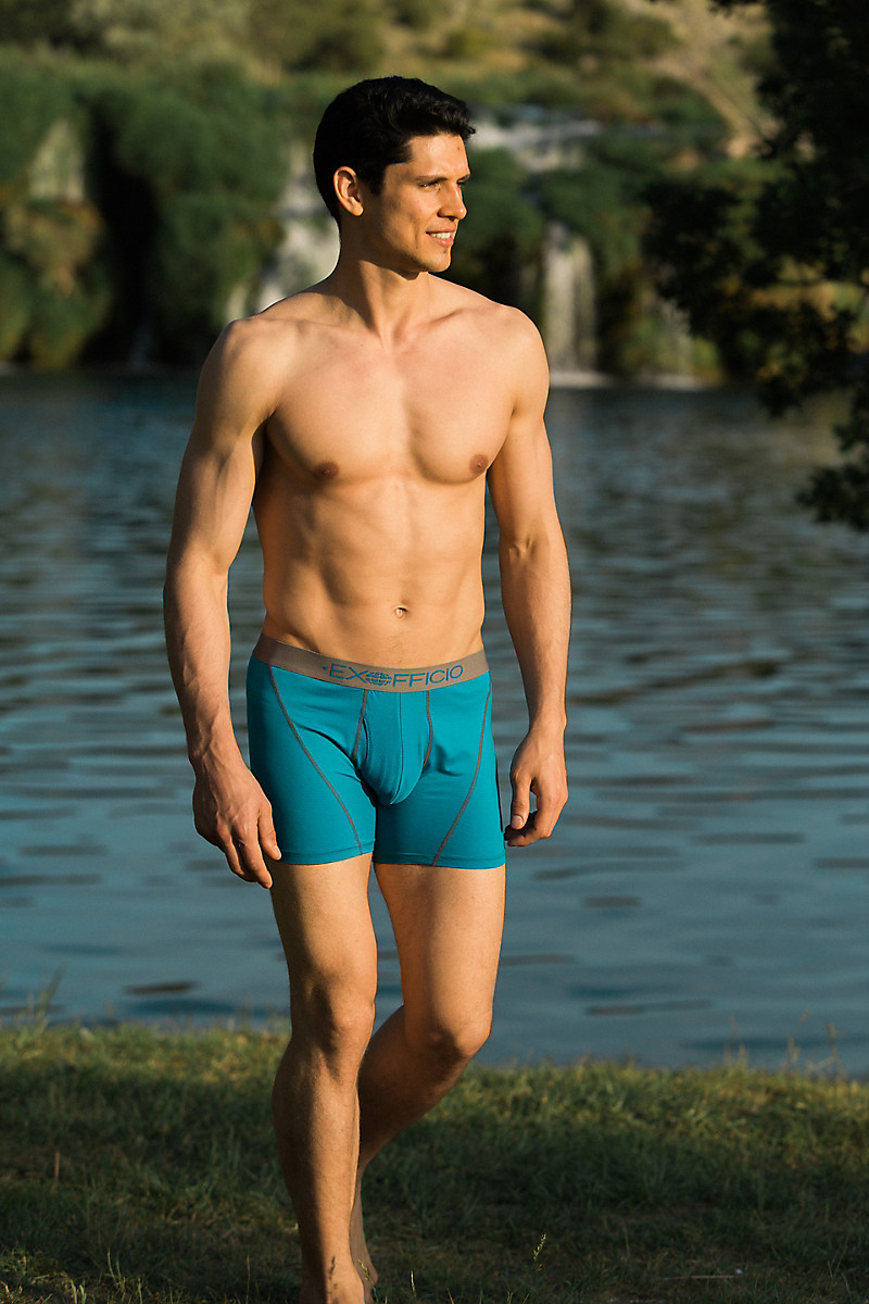7646258823d Give-N-Go Sport Mesh 6   Boxer Brief