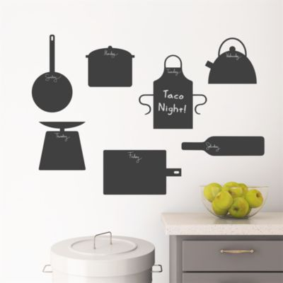Chalkboard Kitchen Icons
