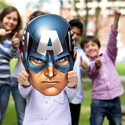 Captain America Avengers Assemble Big Head