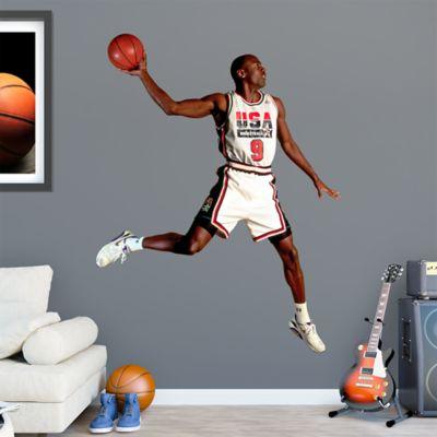 Michael Jordan Olympic Dream Team Wall Decal
