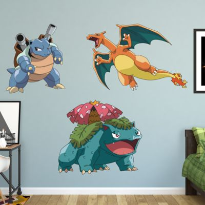 pokemon final evolution collection wall decal shop fathead for pokemon final evolution collection fathead wall decal