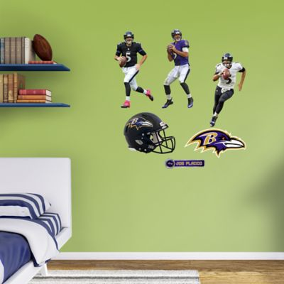 Joe Flacco Hero Pack Fathead Wall Decal