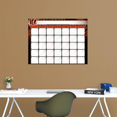 Cincinnati Bengals 1 Month Dry Erase Calendar