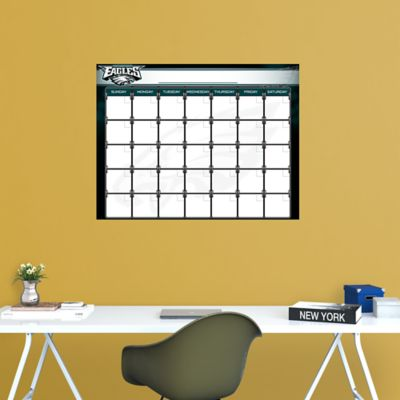 Philadelphia Eagles 1 Month Dry Erase Calendar