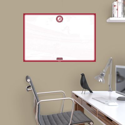 Alabama Crimson Tide Dry Erase Board Wall Decal