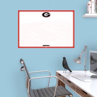Georgia Bulldogs Dry Erase Board Wall Decal