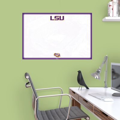 LSU Tigers Dry Erase Board Wall Decal