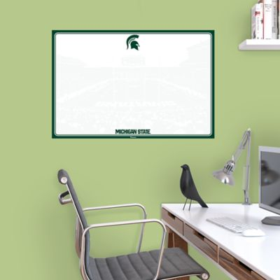 Michigan State Spartans Dry Erase Board Wall Decal