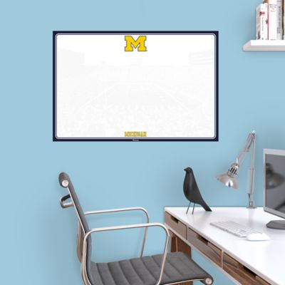 Michigan Wolverines Dry Erase Board Wall Decal