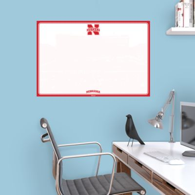Nebraska Cornhuskers Dry Erase Board Wall Decal