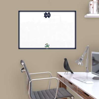 Notre Dame Fighting Irish Dry Erase Board Wall Decal