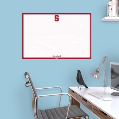 Stanford Cardinal Dry Erase Board Wall Decal