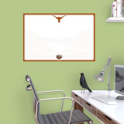 Texas Longhorns Dry Erase Board Wall Decal