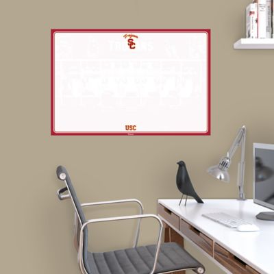 USC Trojans Dry Erase Board Wall Decal