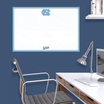 North Carolina Tar Heels Dry Erase Board Wall Decal