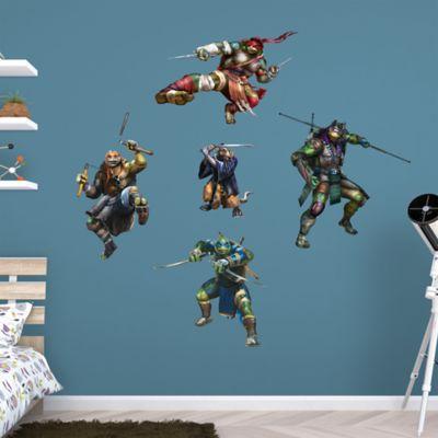 Teenage Mutant Ninja Turtles Movie Collection Fathead Wall Decal