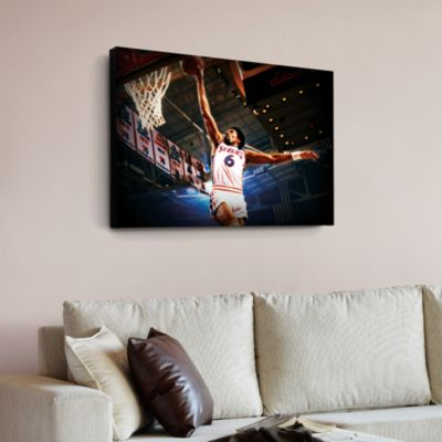 Julius Erving Canvas