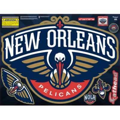 New Orleans Pelicans Street Grip Outdoor Decal