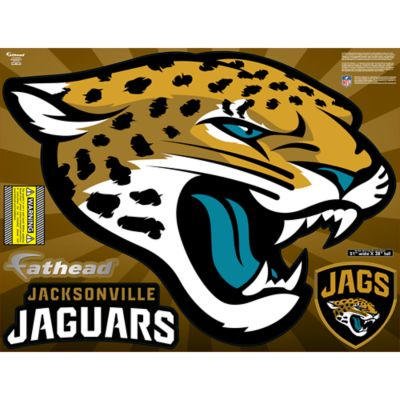 Jacksonville Jaguars Street Grip Outdoor Decal
