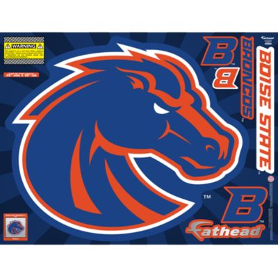 Boise State Broncos Street Grip Outdoor Decal