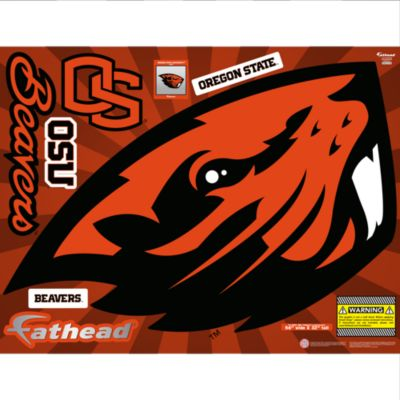 Oregon State Beavers Street Grip Outdoor Decal