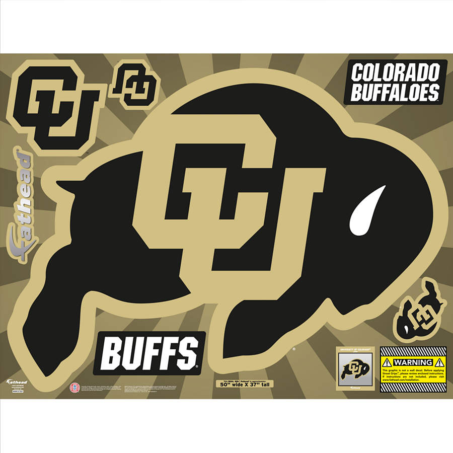 Colorado Buffaloes Street Grip Outdoor Decal