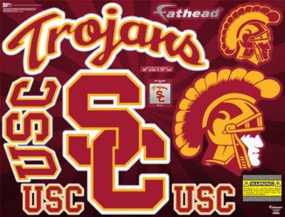 USC Trojans Street Grip Outdoor Decal