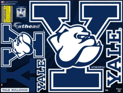 Yale Bulldogs Street Grip Outdoor Decal