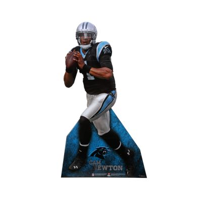 Cam Newton Life-Size Stand Out Freestanding Cut Out