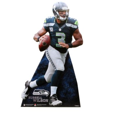Russell Wilson Life-Size Stand Out Freestanding Cut Out